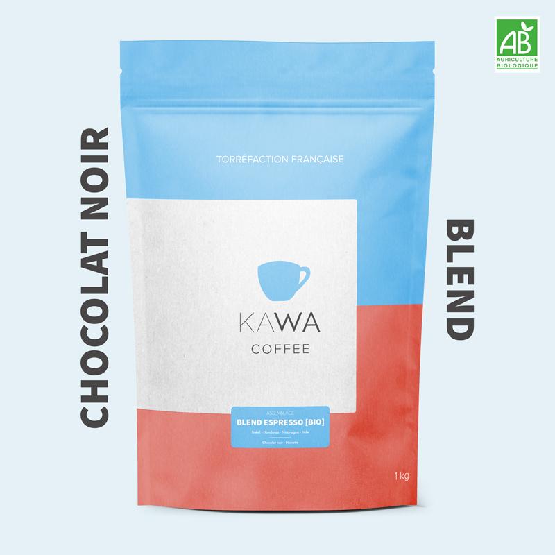 blend chocolat noir kawa coffee assemblage espresso bio