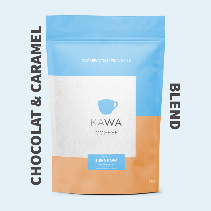 blend kawa café signature coffee assemblage chocolat et caramel
