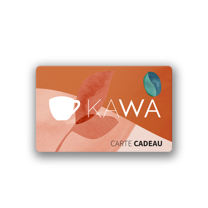 carte cadeau kawa coffee