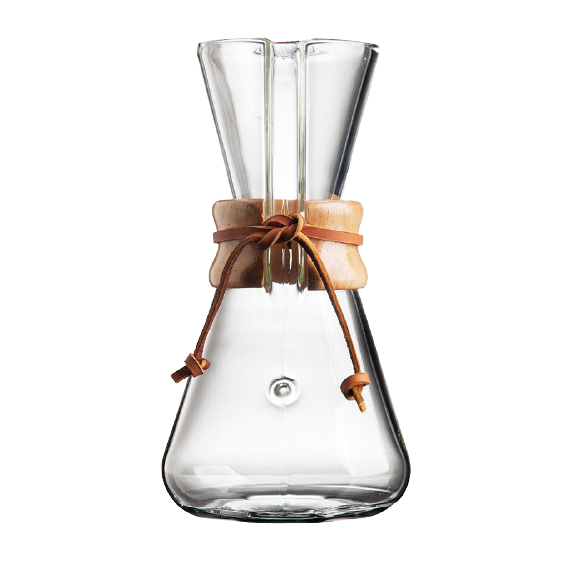 chemex 3 tasse brewer design kawa coffee