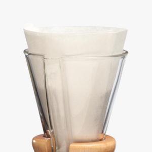 Filtres chemex 3 tasses en papier blanc