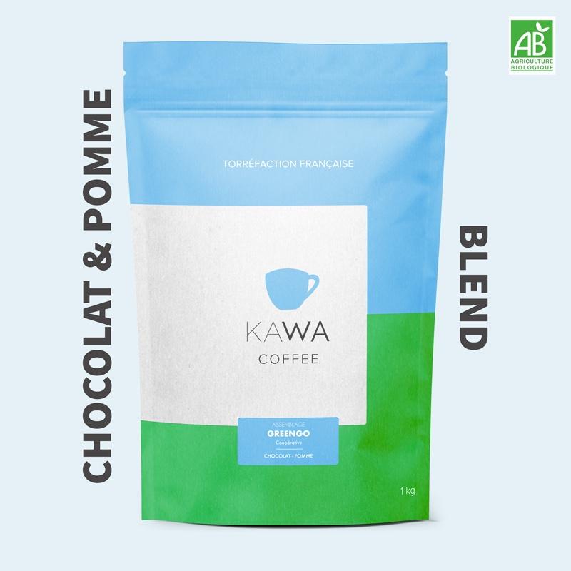 blend greengo kawa chocolat et pomme