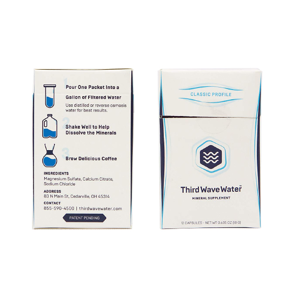 thirdwavewater supplement eau kawa coffee
