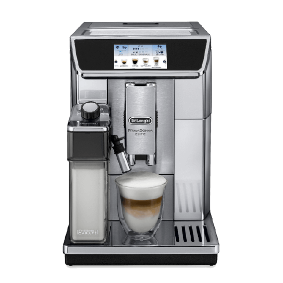 delonghi prima donna kawa coffee machine a café