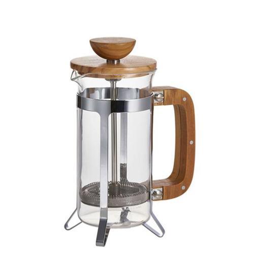 Cafetière piston bois d'olivier 600 ml