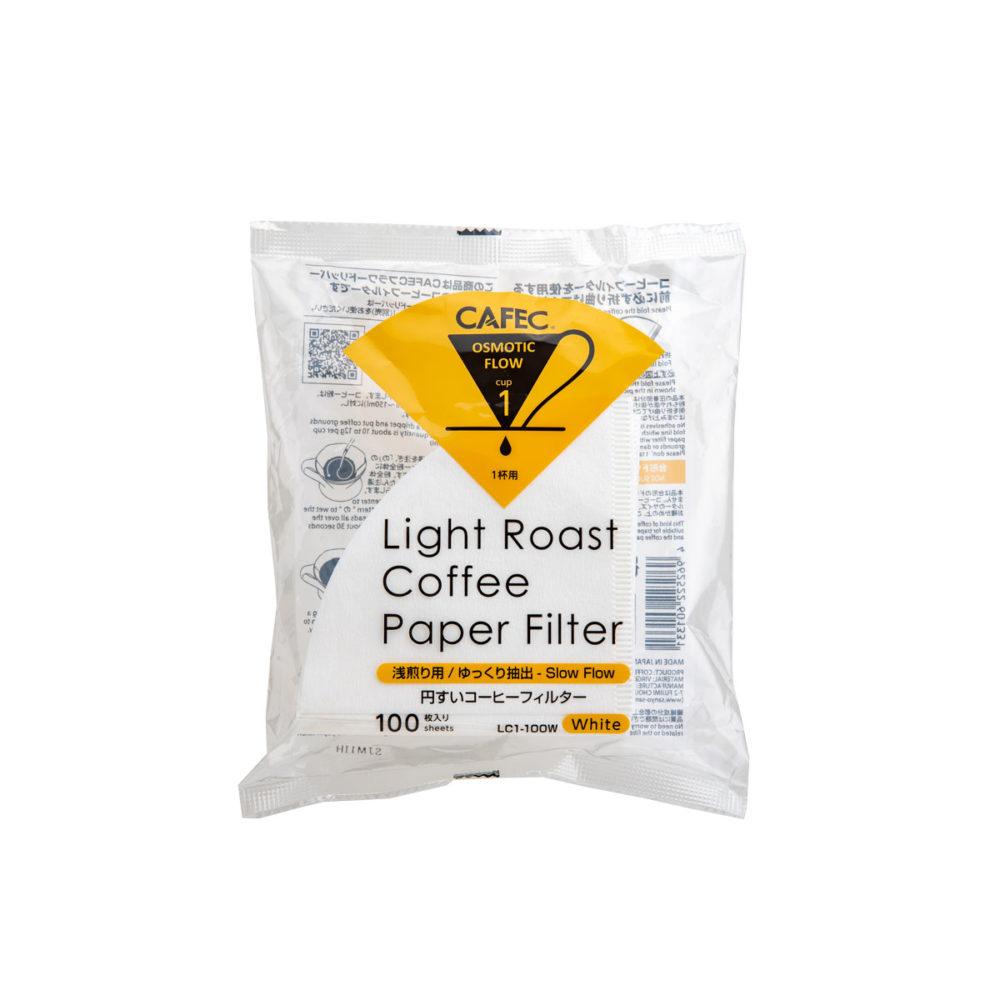 Filtre Light Roast 1 tasse - 100 pièces